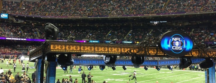 Super Bowl XLVII is one of *****Beta Clube*****.