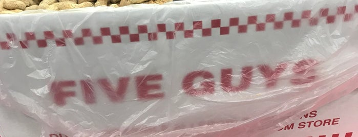Five Guys is one of My places.