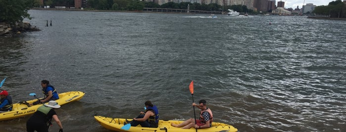 Long Island City Boathouse Kayak Launch Site is one of USA NYC QNS Astoria.