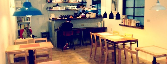 日子咖啡 Nichi Nichi is one of Chill Taipei cafés w/ Wi-Fi.