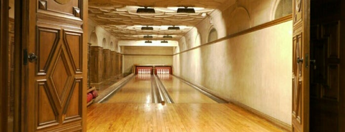 The Secret Bowling Alley is one of Fun.