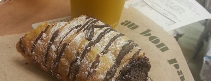 Au Bon Pain is one of Frequent places.