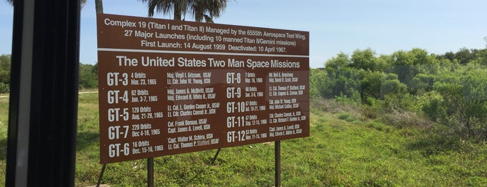 Cape Canaveral Air Force Station is one of Florida.