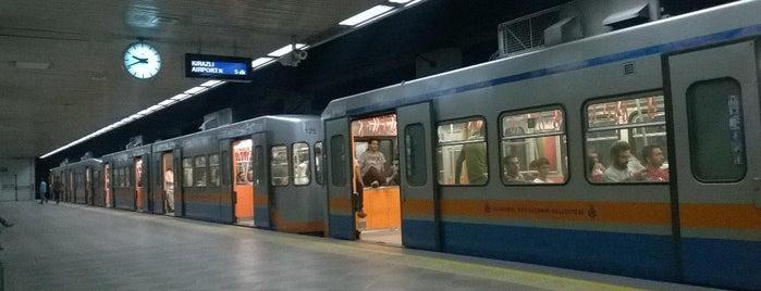 Topkapı - Ulubatlı Metro İstasyonu is one of M1A / M1B - Metro İstasyonları.