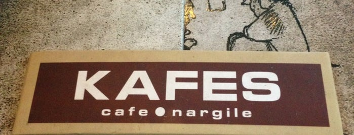 Kafes Cafe & Nargile is one of Nargile Istanbul.