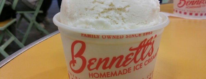 Bennett's Homemade Ice Cream is one of Ice Cream! Only!.