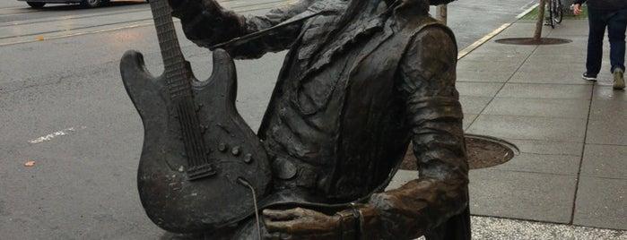 Jimi Hendrix Statue is one of Northwest Washington.