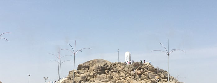 Al Rahmah Mountain is one of Must visit Place and Food in Saudi Arabia.