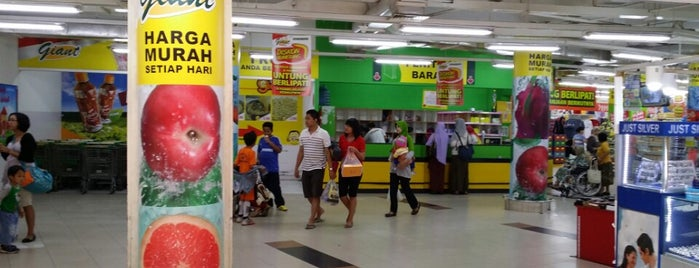 Giant Hypermarket is one of i've been visited.