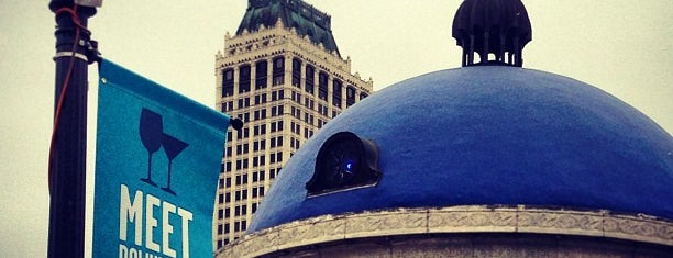 The Blue Dome District is one of Tulsa.