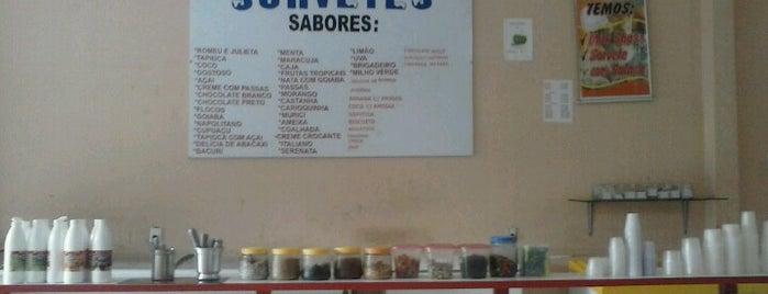 sorveteria maná is one of Lugares.