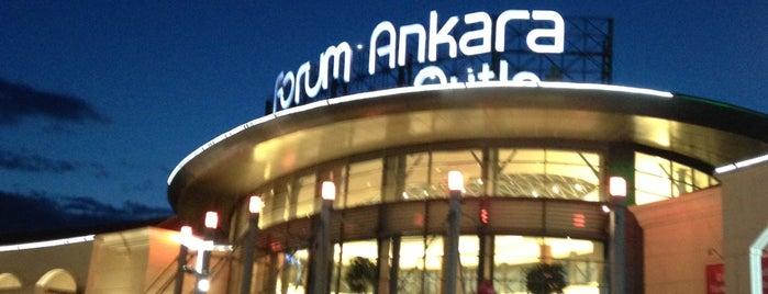 Forum Ankara Outlet is one of Ankara AVM ve mağazaları.