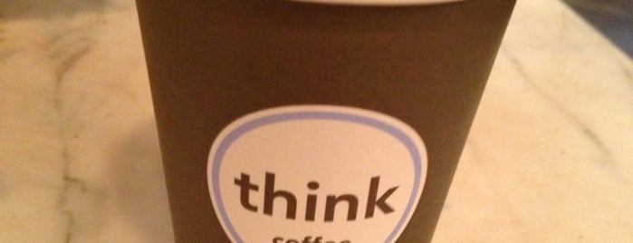 Think Coffee is one of Best Coffices in New York.