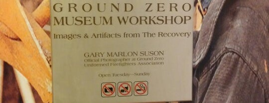Ground Zero Museum Workshop is one of NYC.