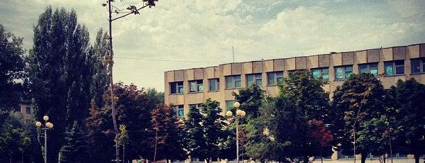 Площадь 1 школа is one of мои места.