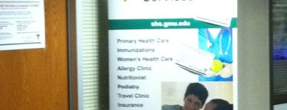 Student Health Center-SUB 1 is one of GMU Fairfax Campus.