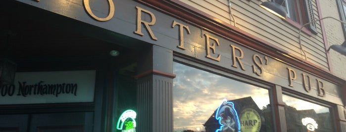 Porters' Pub & Restaurant is one of Craft Beer in the Lehigh Valley.