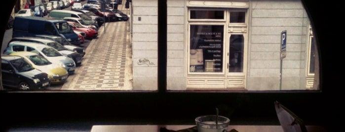 Oblíbené kavárny