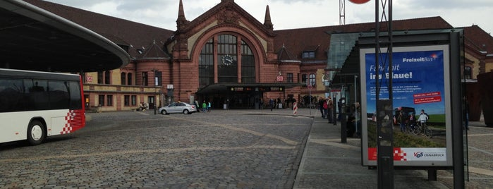 Osnabrück Hauptbahnhof is one of Bahnhöfe DB.