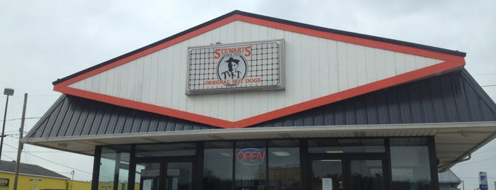 Stewart's Hot Dogs is one of Wild and Wonderful West Virginia.