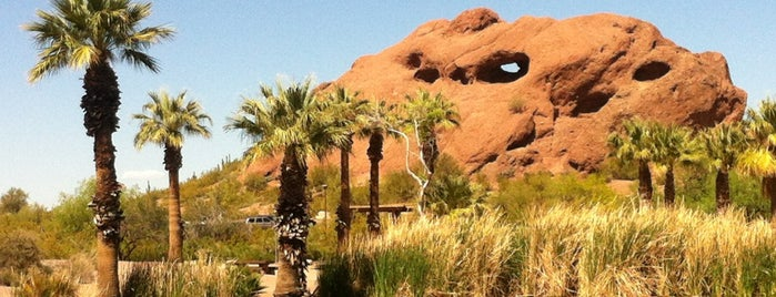 Papago Park is one of Japache Zunction.