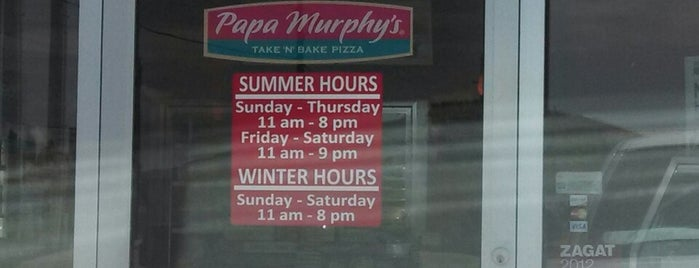 Papa Murphy's is one of places I been.