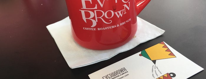 EVERBROWN is one of iBrunch 모임장소.