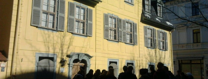 Schiller-Museum mit Schillers Wohnhaus is one of Weimar.