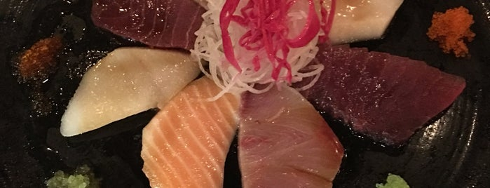 Nikai Sushi Bar is one of Places to try.