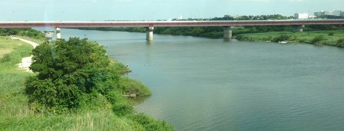 常磐線 利根川橋梁 is one of 千葉県と隣県を繋ぐ鉄道橋.
