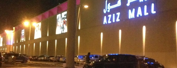 Aziz Mall is one of Jeddah_vip.