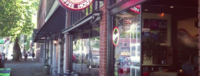 Cherry Street Coffee House is one of Alyssa's Seattle visit.