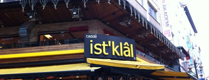 Cadde İstiklal Pasta & Cafe is one of Sonradan Gurme.