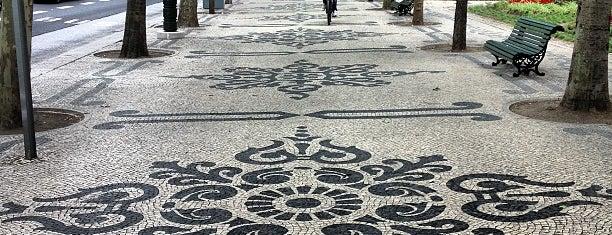 Avenida da Liberdade is one of LISBON THINGS TO DO.