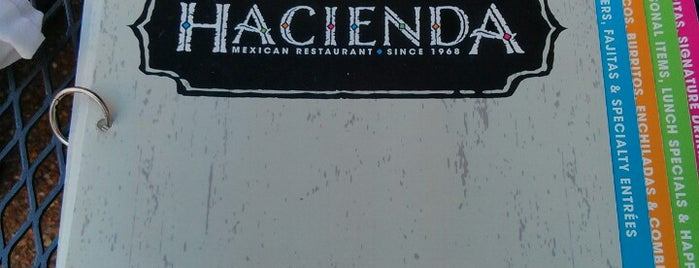 Hacienda Mexican Restaurant is one of Places I End Up Frequently.