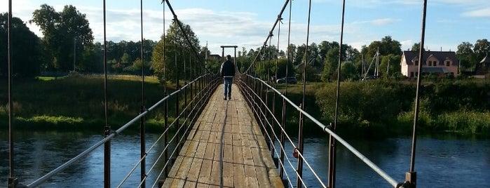 Подвесной мост is one of Around.