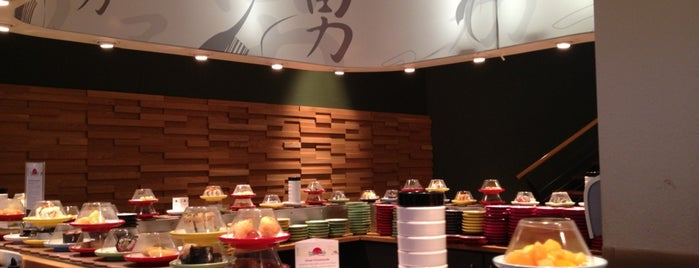 Sushi Circle is one of Asiatische Küche.