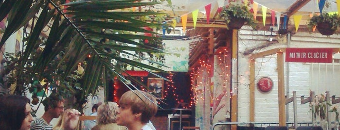 Shacklewell Arms is one of London's Best Beer Gardens.