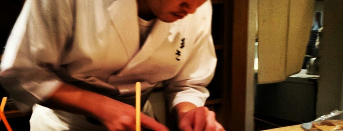 Sushisho Masa is one of Tokyo Fine Dining.
