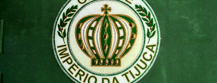 G.R.E.S.E. Império da Tijuca is one of Escolas de Samba do Rio de Janeiro.