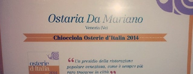 Ostaria da Mariano is one of Simply the best.