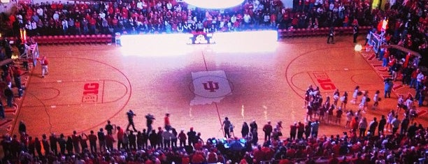 Assembly Hall is one of IU Badge.