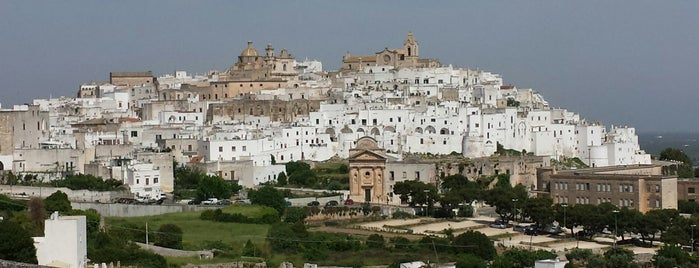 Ostuni is one of Salento.