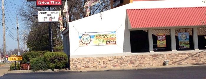 Taco John's is one of Paducah.