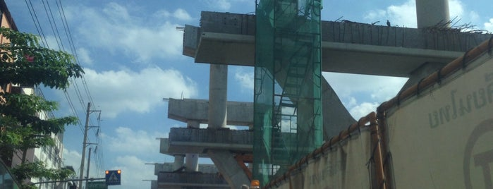 [Construction Site] BTS Sena Nikhom (N12) is one of BTS - Light Green Line (Sukhumvit Line).