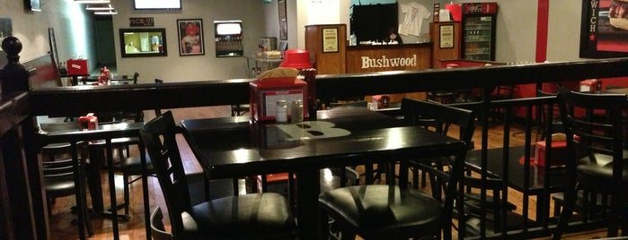Bushwood BBQ is one of BR eats.