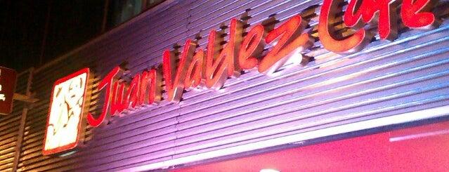 Juan Valdez Café is one of Cafés acogedores.