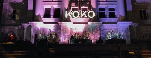KOKO is one of nightlife in London.