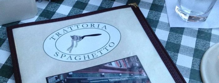 Trattoria Spaghetto is one of Favorite Spots to Eat.