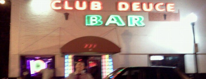 Club Deuce is one of VISU GUIDE TO MIAMI.